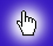 Hand Cursor Royalty Free Stock Images