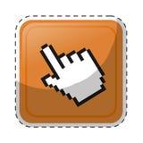 hand cursor icon royalty free illustration