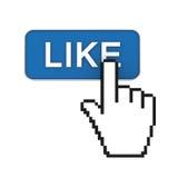Hand cursor pointer Royalty Free Stock Photos
