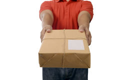 Hand Deliver A Package Stock Photos