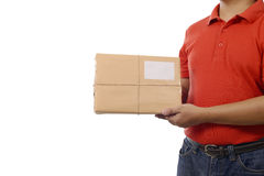 Hand Deliver A Package Royalty Free Stock Photos