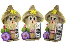 Hand - den gjorda leksaken är en simbol av wellnessen och hem- skydd Arkivbilder