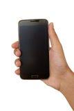 hand den mobila telefonen arkivfoton