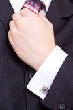 Hand des Geschäftsmannes Stockfotos