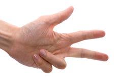 Hand des Mannes Lizenzfreies Stockbild