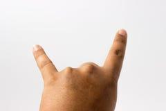 Hand des Rockers Lizenzfreie Stockfotos