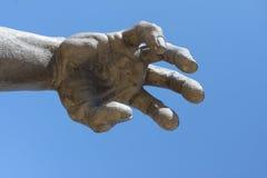 Hand des Weckens Stockfotografie