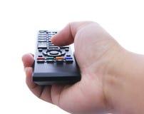 Hand, die Direktübertragung hält lizenzfreies stockfoto
