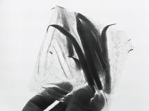 Hand, die Eisblock hält Stockfotos