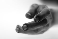 Hand, die für Hilfe erreicht Lizenzfreies Stockbild