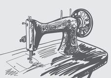 Hand dragen tappningsymaskin vektor illustrationer