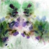 Hand-dragit vått, lutning, vattenfärg, akrylbakgrund Colourf Arkivbilder