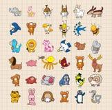 Hand draw animal set Stock Photo