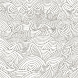 Hand draw black and white lines background Stock Photo