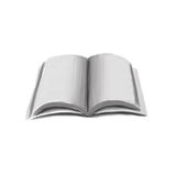 Hand draw book Stock Photo