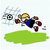 Hand draw charactor cartoon. Stock Photo