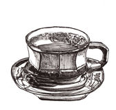 Hand draw cofee cup Royalty Free Stock Photo