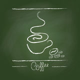 Hand draw coffee Royalty Free Stock Photo