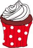 Hand draw cupcake Royalty Free Stock Photos