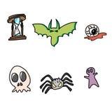 Hand draw halloween cartoon Stock Photo