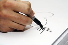 Hand  draw heart Royalty Free Stock Photo