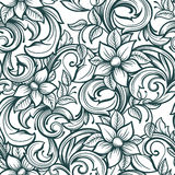 Hand draw pattern Stock Images
