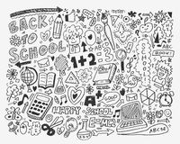 Hand draw school element Stock Photo
