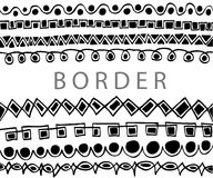 Hand draw sketch, border line Royalty Free Stock Photo