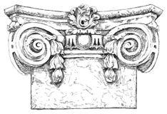 Hand draw sketch chapiter Stock Photo