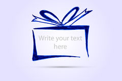 Hand Draw Sketch, Set Of Gift Box Royalty Free Stock Photos