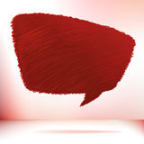 Hand draw speech bubble. + EPS8 Royalty Free Stock Image