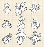 Hand draw Vegetables element Royalty Free Stock Image