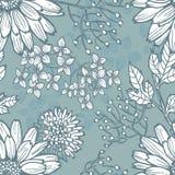 Hand draw  vintage botanical seamless pattern Royalty Free Stock Photos