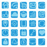 Hand draw web, business, icons, illustrations Royalty Free Stock Images