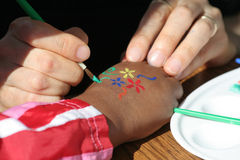 Hand drawing Royalty Free Stock Photo