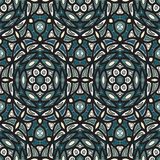 Hand drawing abstract pattern Royalty Free Stock Photos
