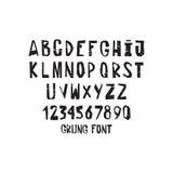 Hand drawing alphabet Stock Photos