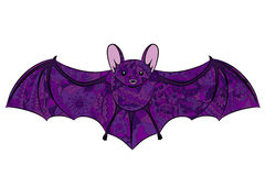 Hand drawing bat Royalty Free Stock Image