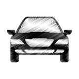 Hand drawing car sketch icon design Stock Images