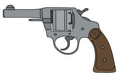 Classic revolver Royalty Free Stock Photos