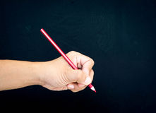 Hand drawing by color pencil Stock Photo