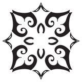 Hand drawing decorative tile frame. Italian majolica style Stock Photo