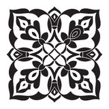 Hand drawing decorative tile pattern. Italian majolica style Royalty Free Stock Image