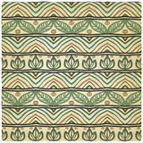Hand drawing ethnic pattern old background Royalty Free Stock Photography