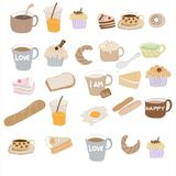 Hand drawing  image of Bakery Royalty Free Stock Photo