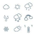 Hand-drawing notes simbols Royalty Free Stock Photos