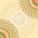 Hand-drawing ornamental abstract lace background for use in design Royalty Free Stock Photo