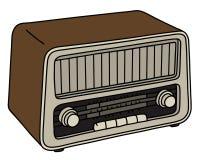 The old radio Royalty Free Stock Photo