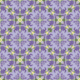 Hand drawing tile color seamless. Italian majolica style Stock Images