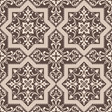 Hand drawing tile vintage color seamless pattern. Italian majolica style. Vector illustration. The best for your design, textiles, posters vector illustration